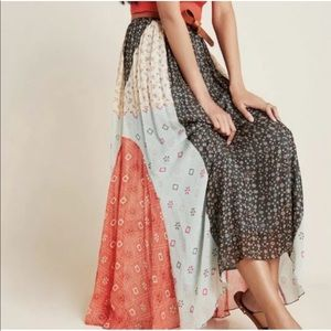 ANTHROPOLOGIE VERB COTTAGE CORE SKIRT